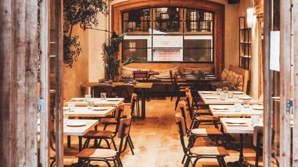 Vista de la Sala - Bar Mono, Barcelona
