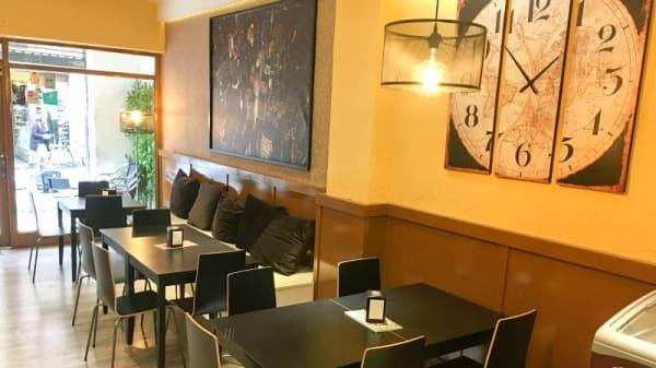 Vista del interior - The Urban Pizza, Alcalá de Henares