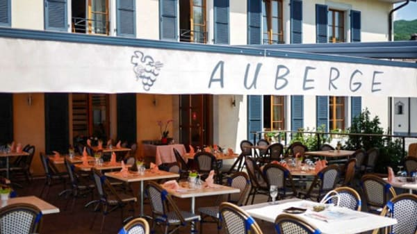Terrasse - Auberge Communale de Gilly, Gilly