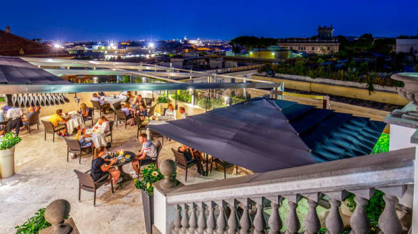 Terrazza - Granet Restaurant & Terraces, Rome