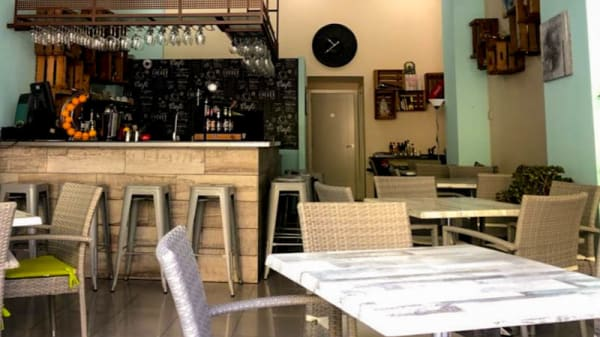 Vista del interior - La maya bar, Marbella