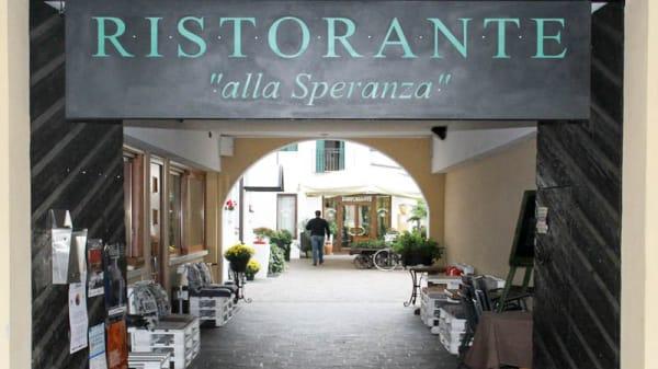 Entrata - Locanda Alla Speranza, Castelfranco Veneto