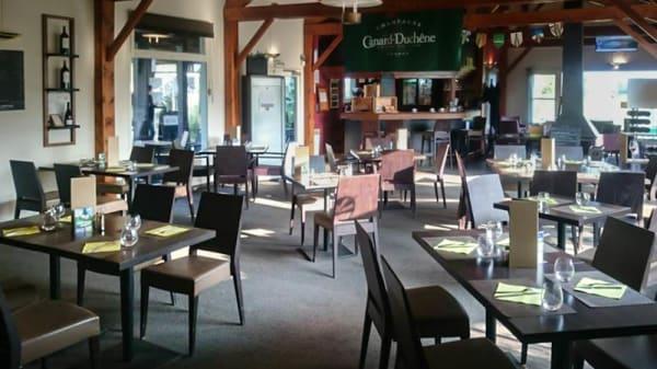 intérieur - Restaurant du Golf de Guerville, Guerville