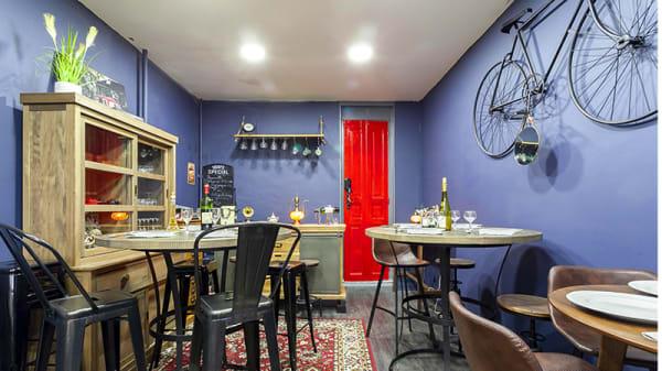 Vue de la salle - Le Show Room du Chef, La Garenne-Colombes