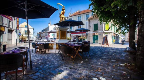 Terrasse - Saint Stephano Pizzeria, Saint-Leu-la-Forêt