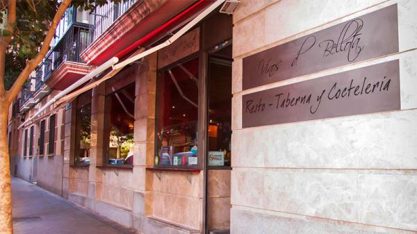 Vista entrada - Vinos de Bellota, Madrid