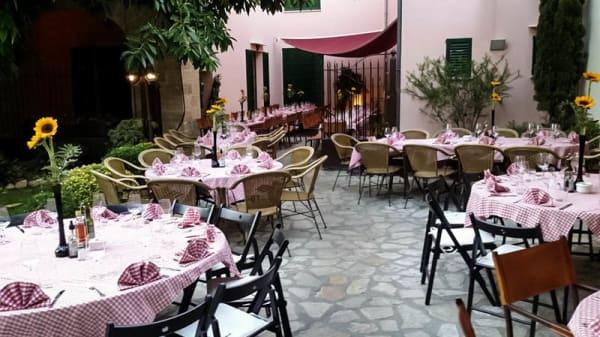 Vista terraza - Trattoria Pizzeria La Trencadora, Pollença