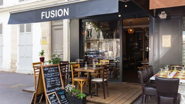 Vue de la terrasse - Fusion, Paris