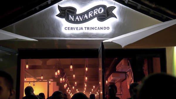 Entrada - Navarro Bar, São Paulo