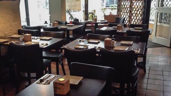 Rummets vy - TieRras Restaurang, Stockholm