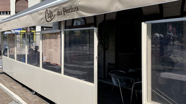 Terrasse coté Max Gallo - Café des Phocéens, Nice