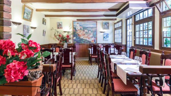 Salle du restaurant - Aux Saveurs d'Alice, Enghien-les-Bains