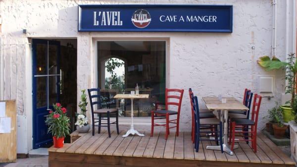Terrasse - L'Avel, Le Cannet