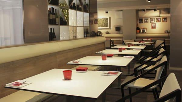 Vista mesas - 3 Atelier Gastrobar Eddie Arola, Barcelona