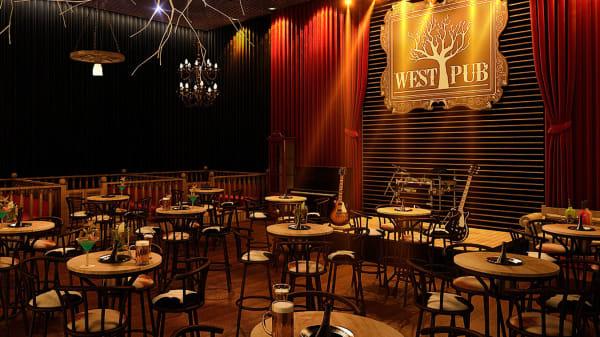 west pub 1 - West Pub Pizzaria, Belo Horizonte