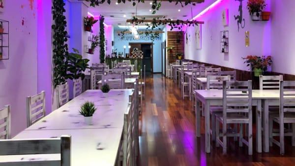 Sala del restaurante - Rainbow Burger Valencia, Valencia