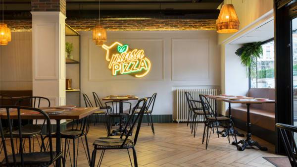 Vista sala - Pinsa Pizza, Madrid