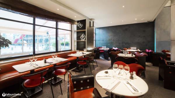 Vue de la salle - Café Beaubourg, Paris