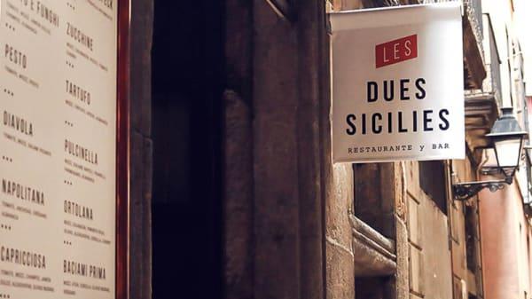 Entrada - Les Dues Sicílies, Barcelona
