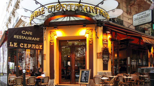 Devanture - Le Cépage Montmartois, Paris