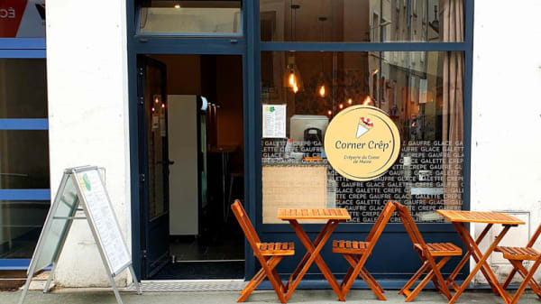 Entrée - Corner Crêp, Angers