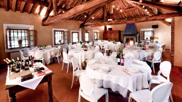Sala superiore - Cascina Caremma, Besate
