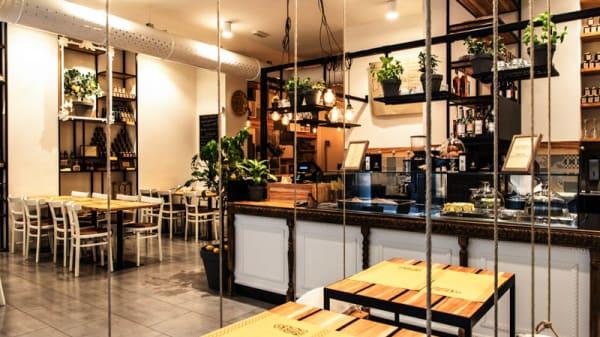 Salone ristorante - SlowSud Brera, Milano