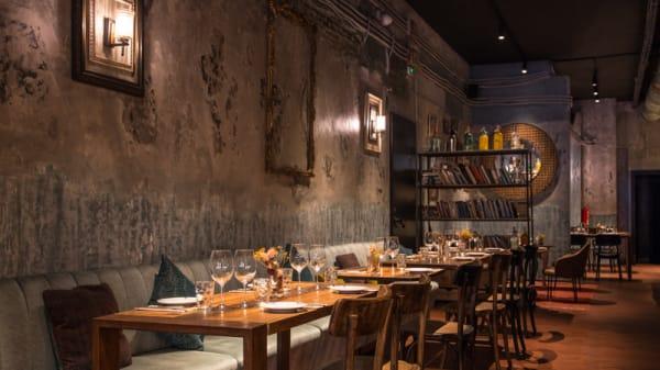 Vista sala - Babula Bar 1937, Barcelona