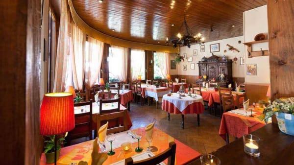 Vue de la salle - Hotel Restaurant de Gerardmer, Soultzeren