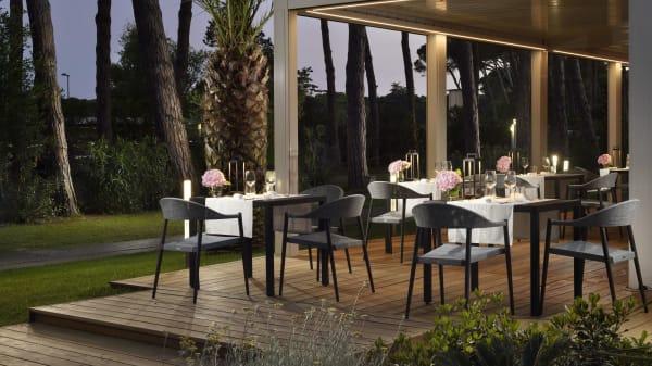 La nostra sala esclusiva per la cena - Granace - Grano & Brace, Marina di Bibbona