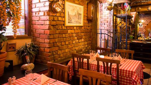 Restaurangens rum - Pasta Plus Södra vägen, Göteborg