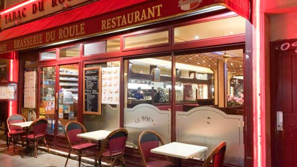 Terrasse - Brasserie du Roule, Paris