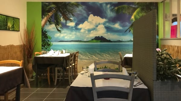 Salle du restaurant - Lyd'ile, Colmar