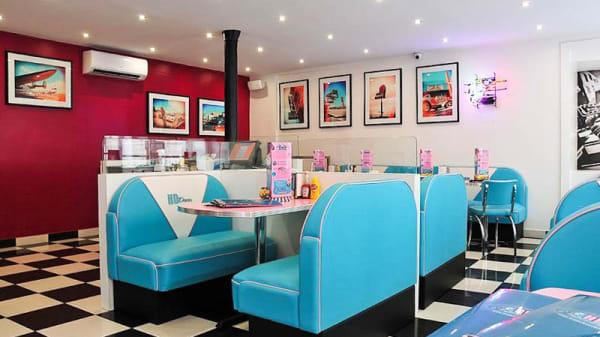 Salon du restaurant - HD Diner Rivoli, Paris