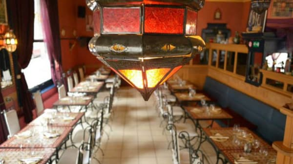 vue de l'intérieur / détail déco - Le P'tit Chouia en +, Brussels