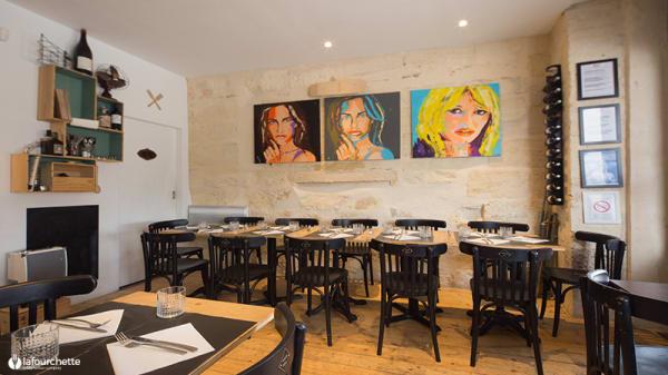 Salle du restaurant - Le Coin des Copains, Bordeaux