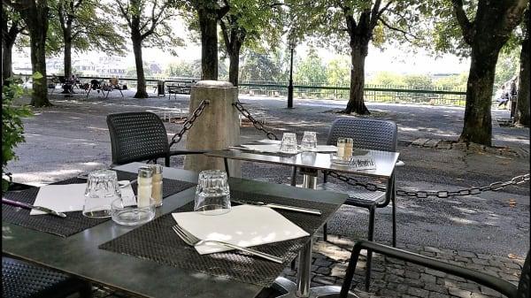 Terrasse - Café Papon, Genève