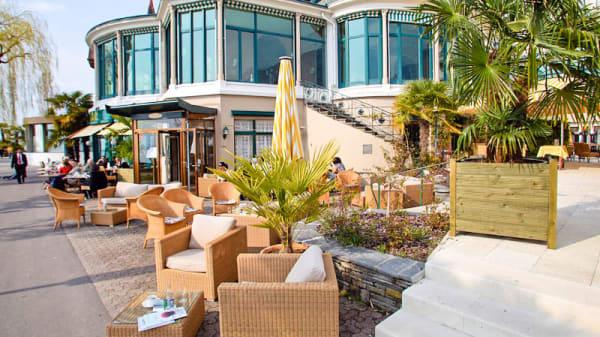 Terrase extérieur - Eden Palace - Chez Gaston, Montreux