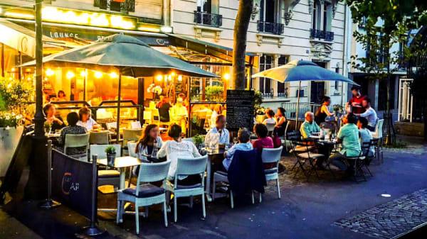 Terrasse - Bistrot Le Cap, Paris