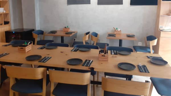 Sala del restaurante - Fideo Ramen, Málaga