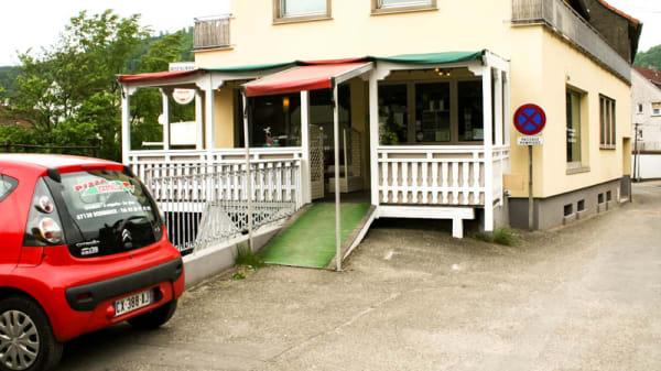 Vue devanture - Pizza Castello, Schirmeck