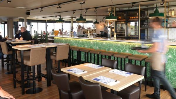 Het restaurant - Kop van de Haven, IJmuiden