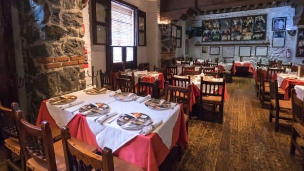 Sala del restaurante - Casa de Castilla, Ciudad de México