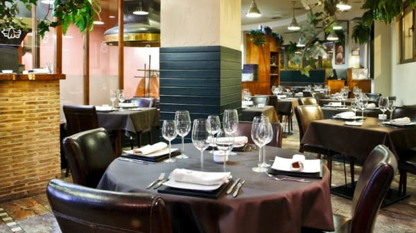 Vista mesa - Carnívore Restaurant, Valencia