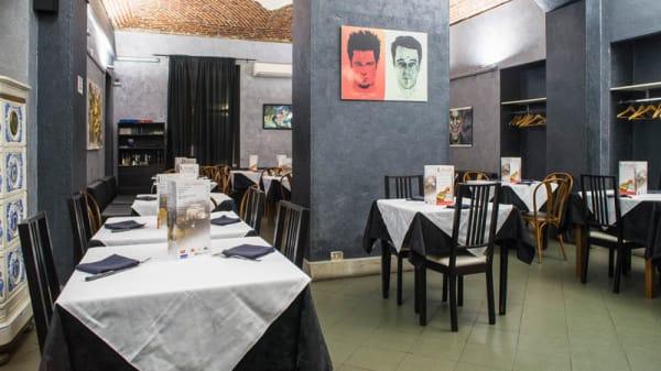 Salone ristorante - L'Antagonista, Turin