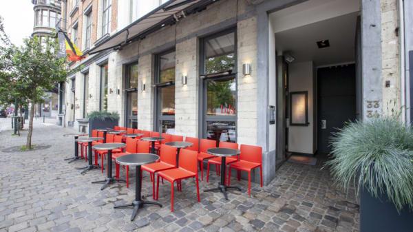 Vue de la terrasse - Lola, Brussel