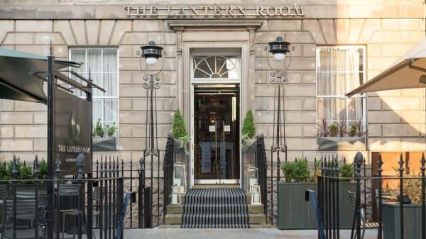 Entrance - The Lantern Room, Edinburgh
