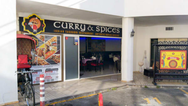 Entrada - Curry and Spices, Costa Adeje