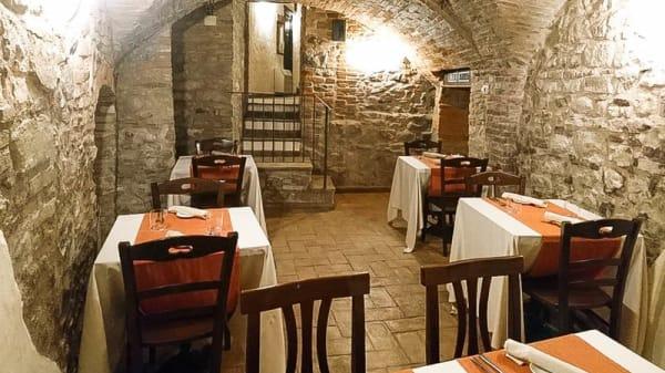 Vista della sala - Echoes Restaurant, Piegaro