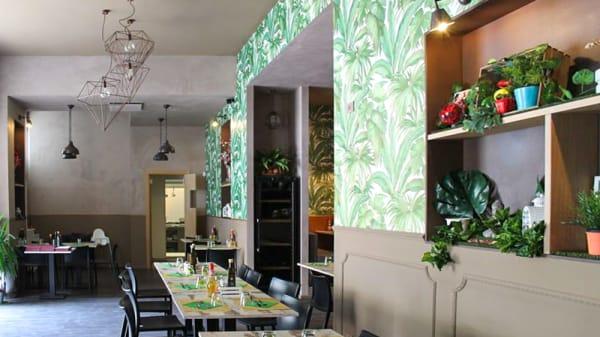 Sala del ristorante - Nirvana, Firenze